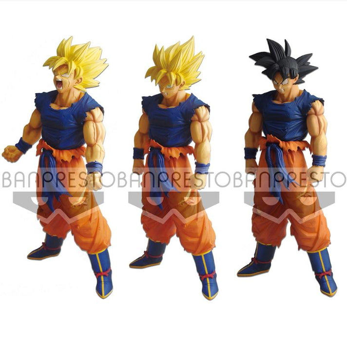 Dragon Ball Super Battle Legend SSJ Goku Kuji Prize Figure w/Interchangeable Parts