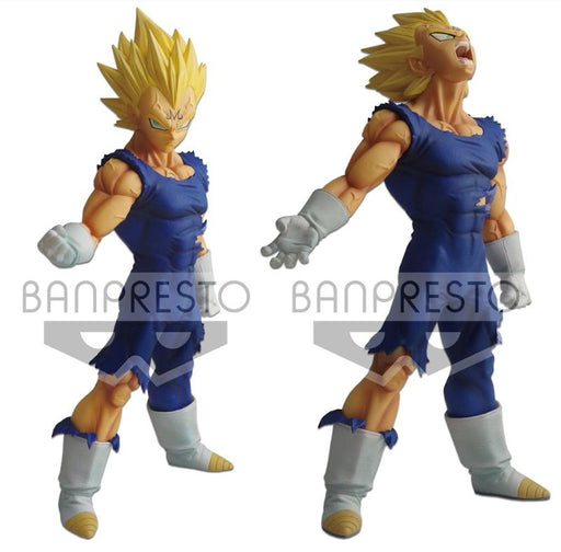 Dragon Ball Super Battle Legend SSJ Vegeta Majin Kuji Prize Figure w/Interchangeable Parts