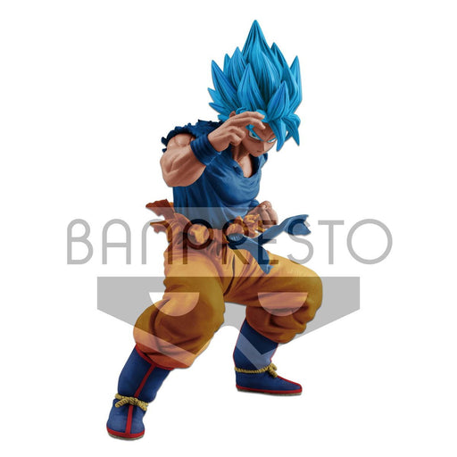 Dragon Ball Super Masterlise Super Saiyan Blue Goku Prize Figure Banpresto