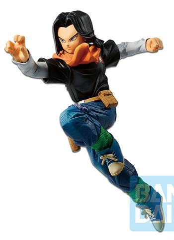 Dragon Ball Z The Android 17 Battle Fighter-Z Kuji Prize Figure Banpresto