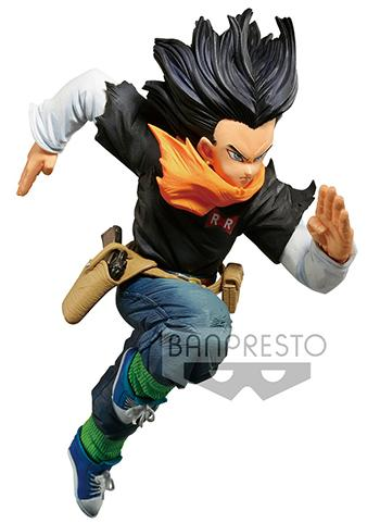 Dragon Ball Z World Figure Colosseum 2 Vol.3 Android 17 - Prize Figure 2019 June