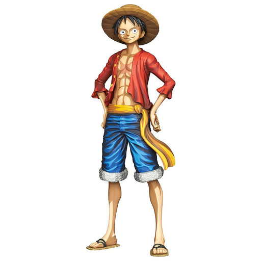 One Piece Grandista Manga Dimensions Monkey. D. Luffy - Character Prize Figure July 2019