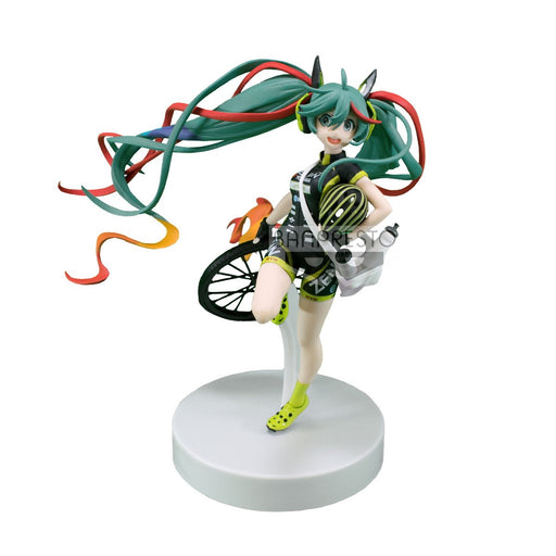 Vocaloid Hatsune Miku Racing 2016 Team UKYO Cheering Ver. - Character Prize Figure