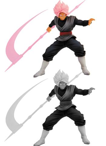 Dragon Ball Z World Figure Colosseum 2 SS Rose Goku Black Prize Figure JP Ver. Golden Toei Seal Vol.9