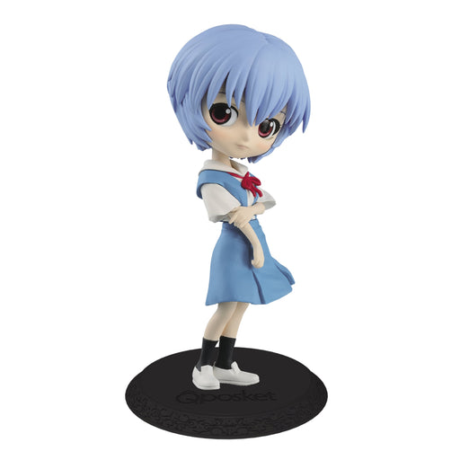 Evangelion Rei Ayanami - Character Q Posket Figure Ver.A