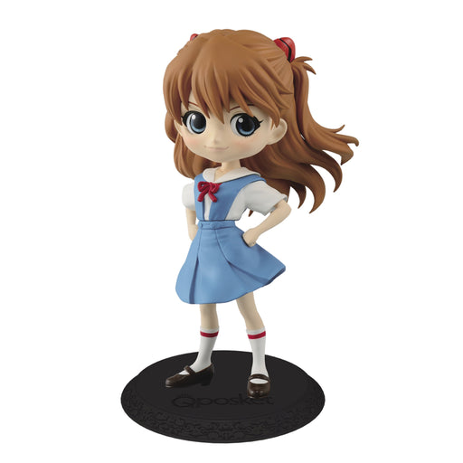 Evangelion Asuka Langley - Character Q Posket Figure Ver.A