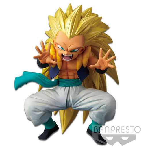 Dragon Ball Super Warriors Battle Chosenshi Retsuden SSJ3 Gotenks - Character Prize Figure
