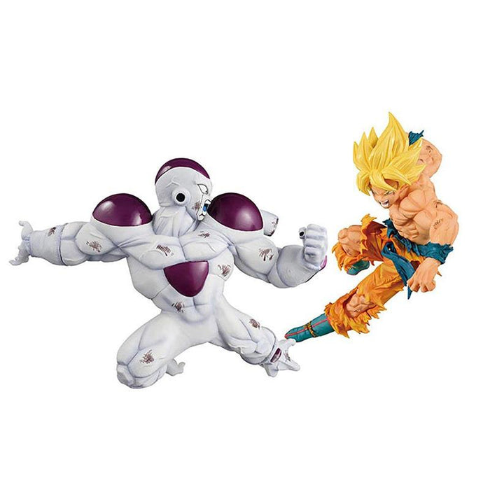 Dragon Ball Z Match Makers SSJ Goku & Full Power Frieza - Prize Figure Bundle