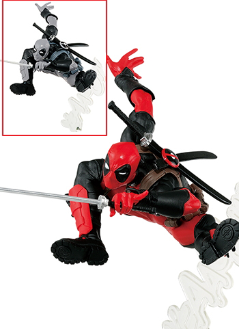 Marvel Deadpool Grey & Red Color Ver. - Creator X Creator Figure Banpresto
