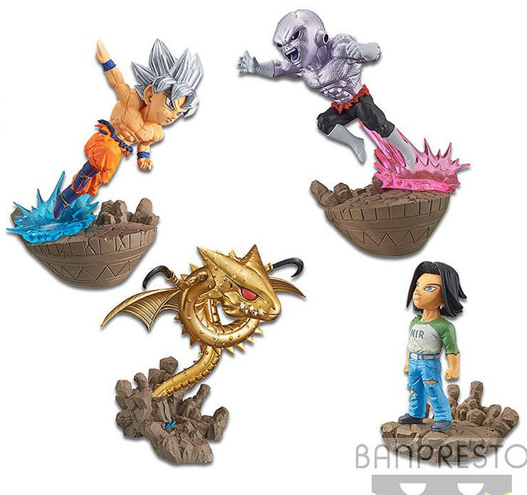 Dragon Ball World Collectable Diorama WCF/WCD Mini Figure Vol.2 2018 Nov Banpresto