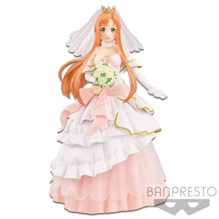 Sword Art Online Code Register SAO Asuna Bride Wedding Ver. - EXQ Figure