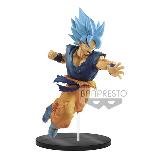 Dragon Ball Super Ultimate Soldiers The Movie-II Super Saiyan Blue Goku Prize Figure Banpresto