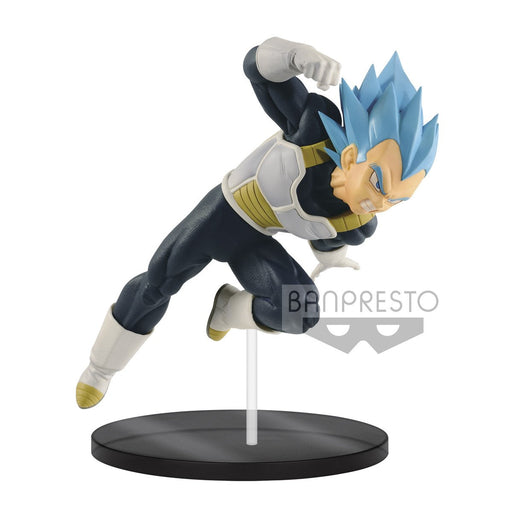 Dragon Ball Super Ultimate Soldiers The Movie-III Blue Vegeta Prize Figure Banpresto