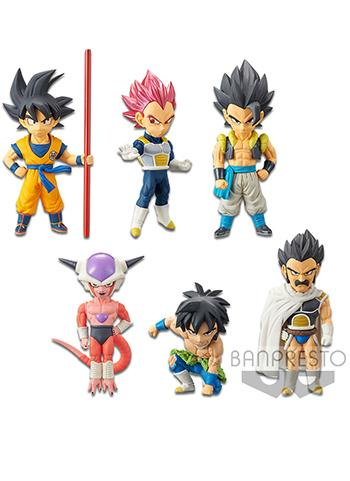 Dragon Ball Super (Movie 20th) World Collectable Figure WCF Vol.1