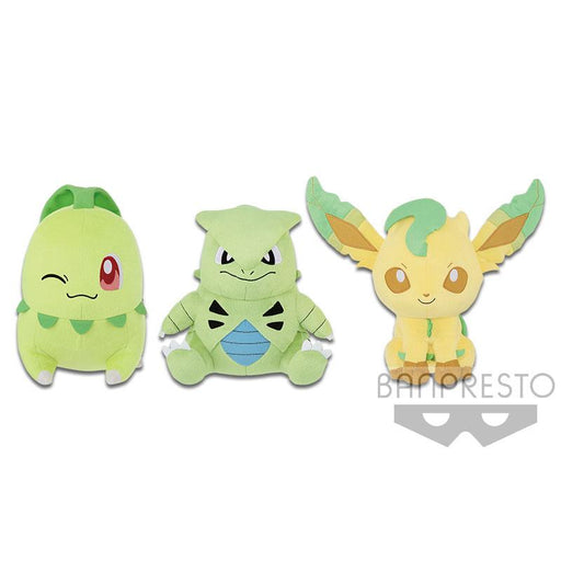 "Pokemon Color Series (Green) 9.5"" Character Super DX Plush Toy"