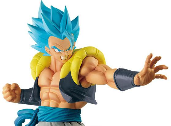 Dragon Ball Super Ultimate Soldiers Blue Gogeta The Movie IV/4 Prize Figure JP Gold Toei