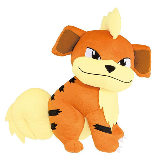 "Pokemon Sun & Moon Growlithe 13"" Character Huge Plush Toy Soft Doll"