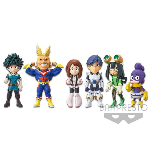 My Hero Academia MHA World Collectable Figure WCF Vol.1