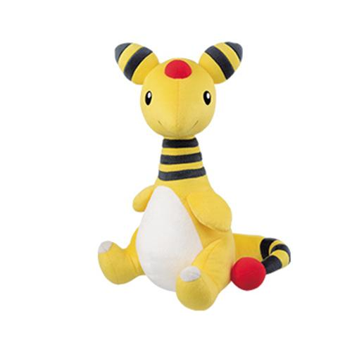 "Pokemon Look at your Tail! Ampharos 15"" - Character Mega Size Plush Toy"