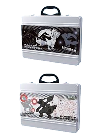 Pokemon - Zekrom Reshiram - Metal Lunch Box Brief Case