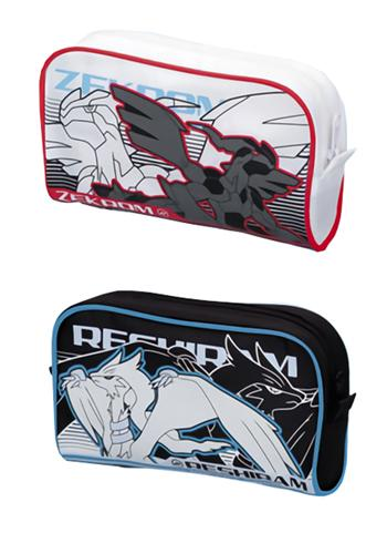 Pokémon Reshiram & Zekrom - Character Multi-Purpose Zipper Case Pouch