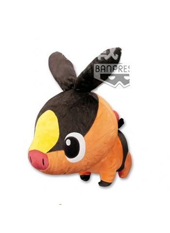 "Pokemon - Tepig Sparkling Chibi 10"" Super DX Plush Doll Toy Plushie"