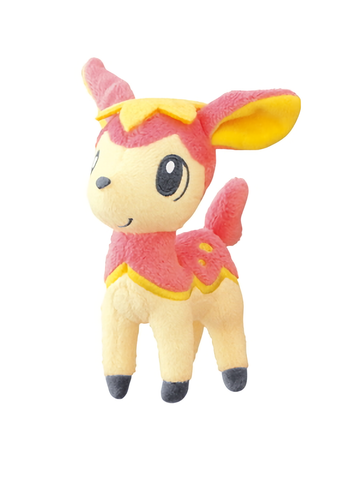 "Pokemon - Deerling Spring 4""- Plush Toy Keychain Ball Chain MPC15 UFO"