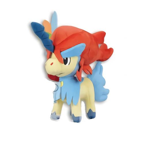 "Pokémon the Movie Keldeo 6"" - Plush Doll Toy UFO"