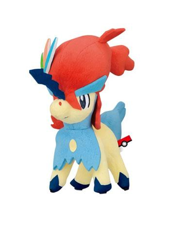 My Pokemon Collection - Keldeo Resolute Forme - Ball-Chain Plush Key Chain MPC 18