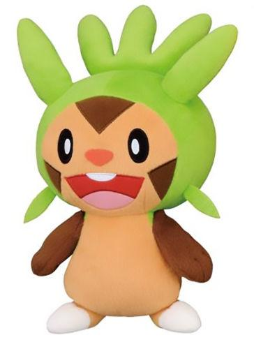 "Pokemon Chespin Super DX 10"" Plush Toy Doll"