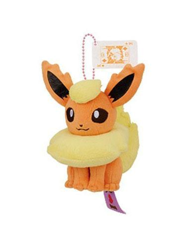 "Pokemon I Love Eevee 5"" Flareon - Ball-Chain Plush"