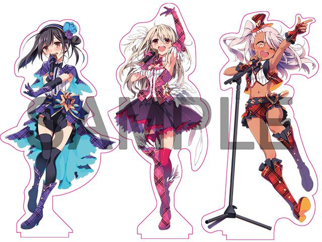Fate Prisma☆Klangfest kaleidoscope Event Limited Character Acrylic Stand