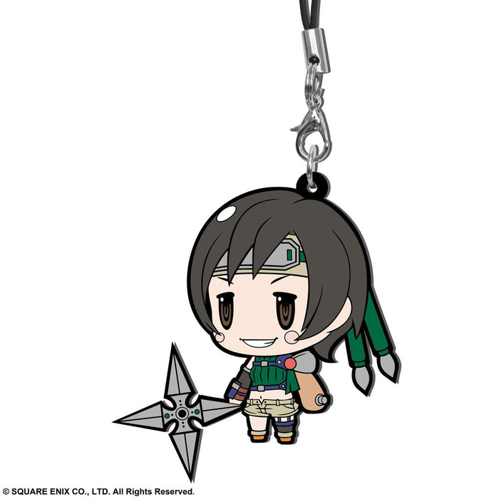 Final Fantasy VII Reno Trading Rubber Phone Strap Extended Edition