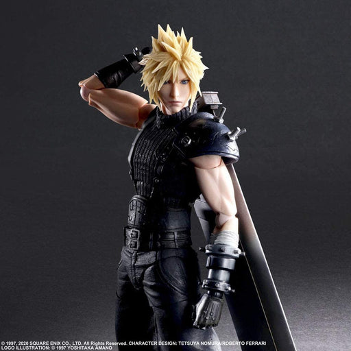 Fnal Fantasy VII Remake - Cloud Strife Ver.2 - Play Arts -Kai- Square Enix Action Figure