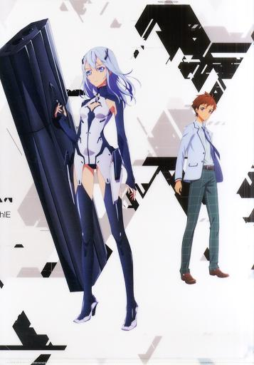 Beatless Cafe Machi Asobi Collab Character A3 Giant Clear File