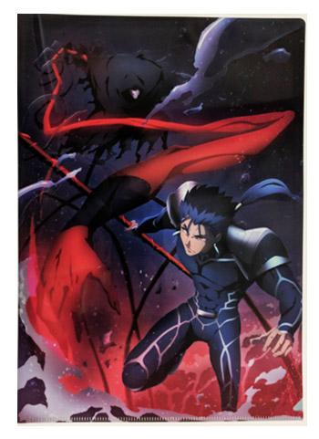 UFOTable Cafe Fate/stay night: Heaven's Feel Battle Lancer vs Assassin A4 Clear File Ver.2