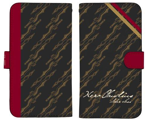 Fate/Extella Link - Nero Claudius - Book Type Character Smart Phone Pouch for iPhone 158
