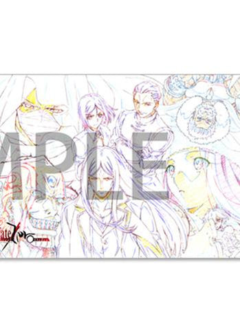 Fate Accel Zero Order Collabo Cafe A3 Giant Clear File
