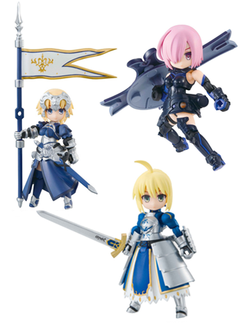Fate Grand Order FGO Desktop Army Mini Figure