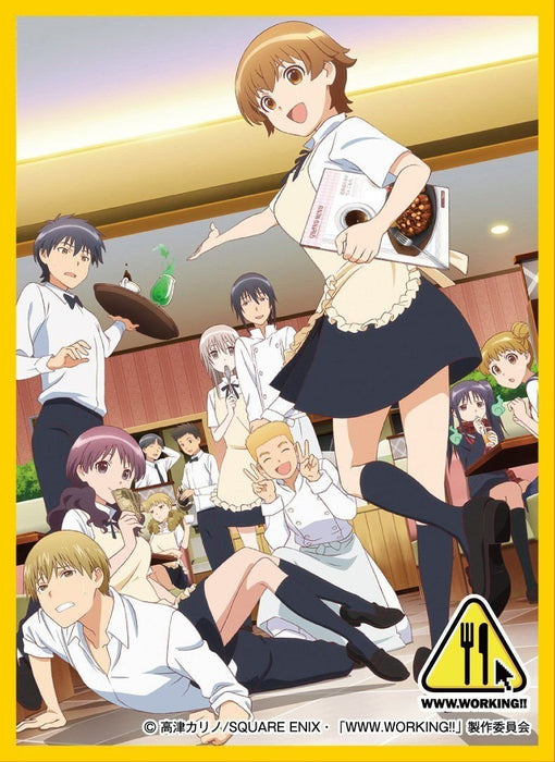 Working Wagnaria!! Hana Miyakoshi - Mat Sleeves No.MT292