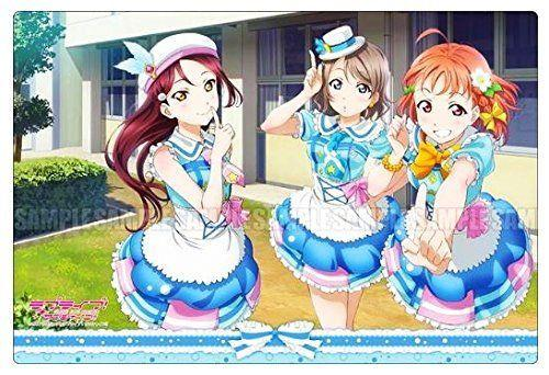 Love Live! Sunshine!! - Riko, You & Chika (Sophomore/2nd year) - Rubber Play Mat