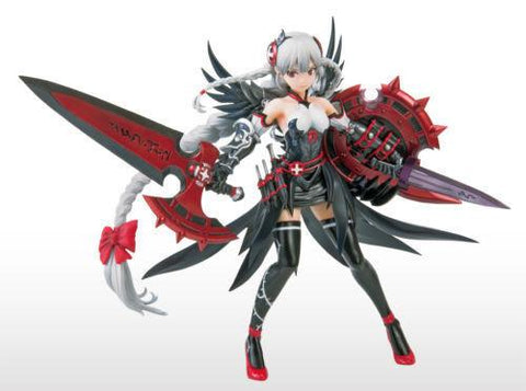 Graceful Valkyrie Black Blaze Prize Figure - Puzzle & Dragons Vol.6