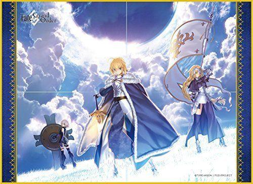 Fate/Grand Order - Shielder Mash, Saber Altria & Ruler Jeanne - Cloth Playmat FGO