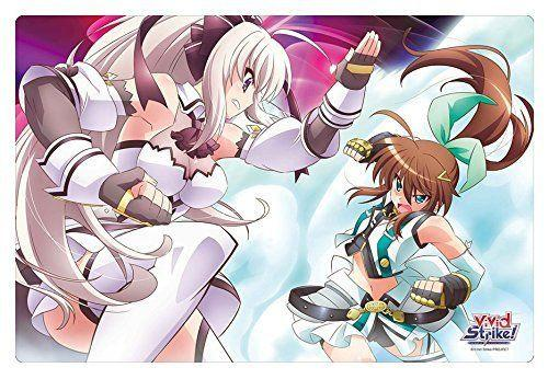 Vivid Strike! (Nanoha) Fuuka & Rinne - Rubber Play Mat Vol.71