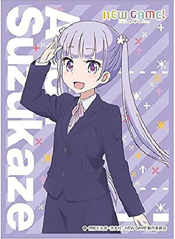 Character Sleeves - New Game! - Aoba Suzukaze
