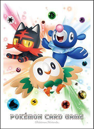 Rowlet, LItten & Popplio Character Sleeves - Pokemon TCG Sun & Moon