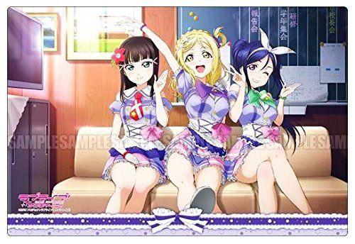 Love Live! Sunshine!! - Mari, Dia, Mari (Junior,3rd year) - Rubber Play Mat