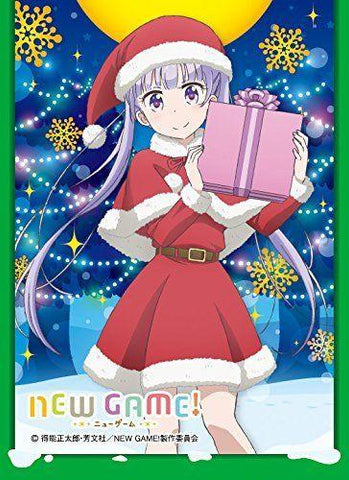 New Game! - Aoba Suzukaze Santa - Mat Sleeves MT302