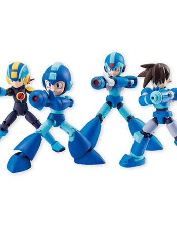 Mega Man 66 Action Dash Mini Action Toy Figure **Set of 4**
