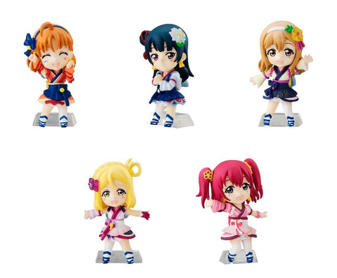 Love Live! Sunshine!! Chocollect - Capsule Toys Set of 5 (Part 2)